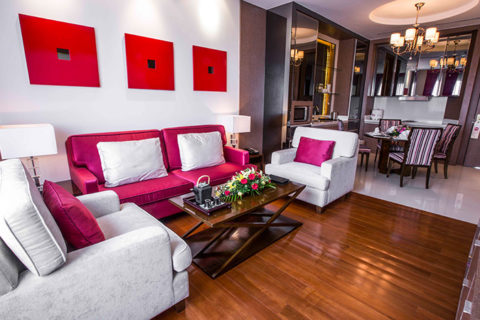 Serviced Apartment One Bedroom at Phnom Penh Hotel