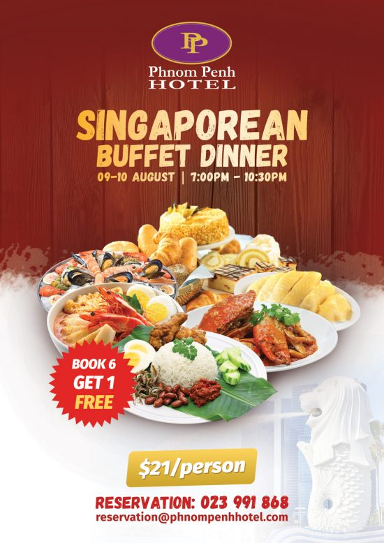 Singarean buffet dinner
